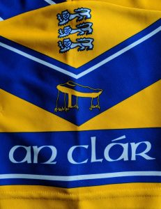 A Clare jersey sleeve